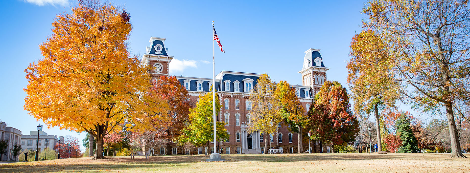 Old Main and Trees